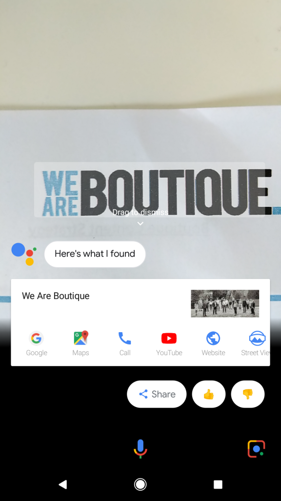 Visual brand search with Google Lens lets you search by brand marks